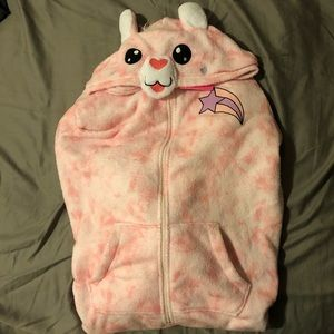Llama onesie adult pajama